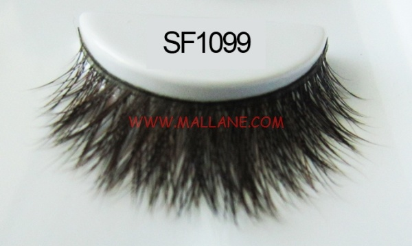 Luxury Sable Fur Strip Lashes SF1099