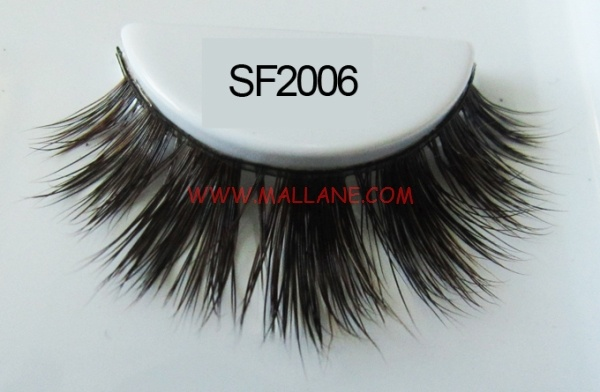 Luxury Sable Fur Strip Lashes SF2006