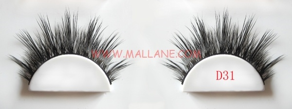 Real Mink Strip Lashes D31