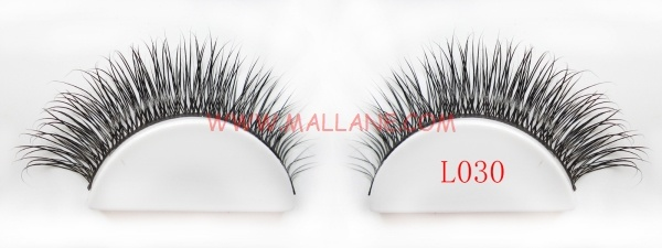 Real Mink Strip Lashes L030