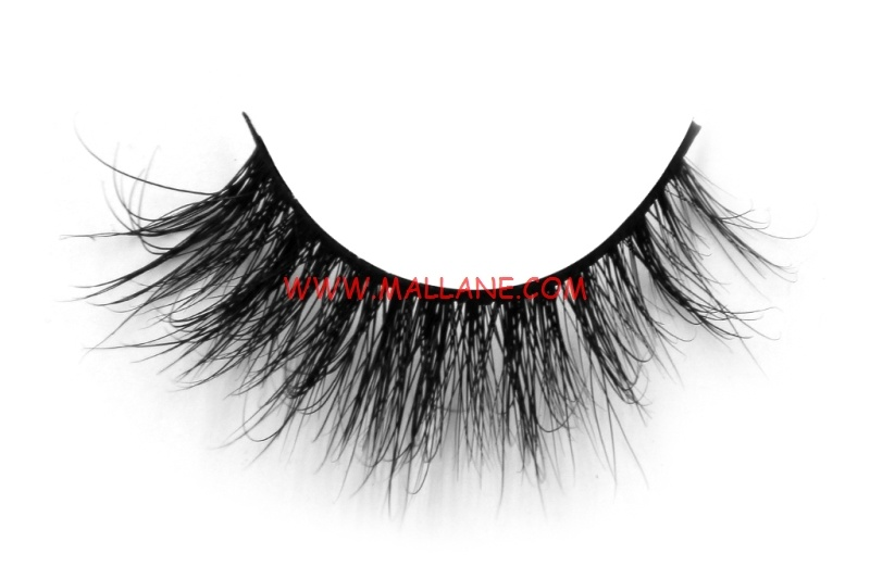 3D Style Mink Strip Lashes SD044