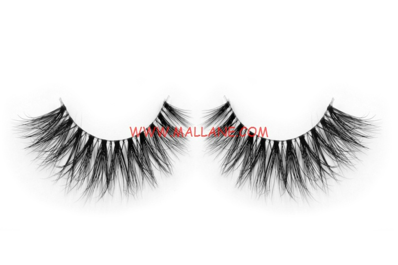 3D Clear Band Mink Strip Lashes SC10