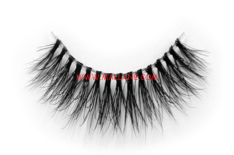 3D Clear Band Mink Strip Lashes SC15