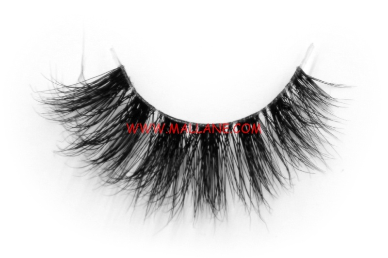 3D Clear Band Mink Strip Lashes SC30