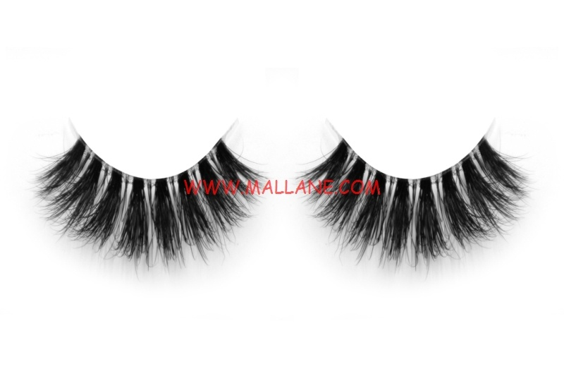 3D Clear Band Mink Strip Lashes SC32