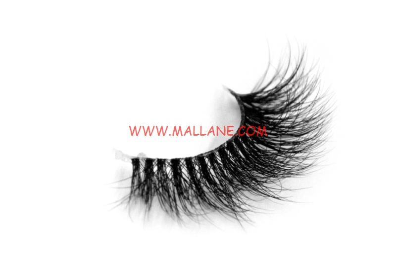 3D Clear Band Mink Strip Lashes SC36
