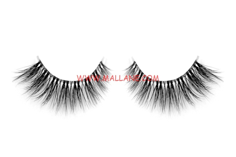 3D Clear Band Mink Strip Lashes SC39