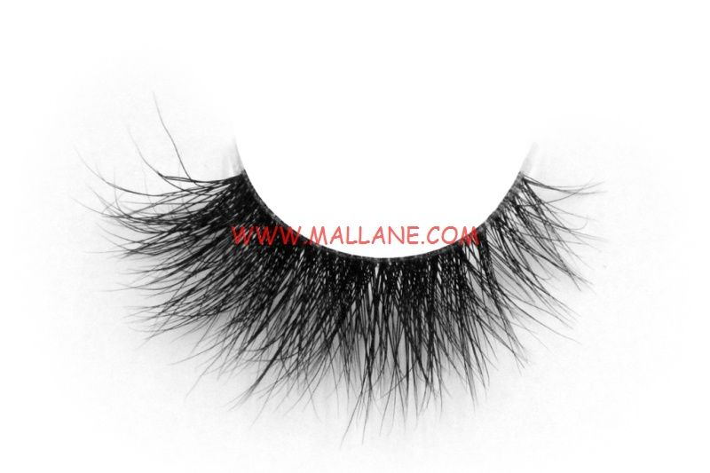3D Clear Band Mink Strip Lashes SC46