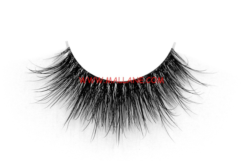 3D Clear Band Mink Strip Lashes SC47