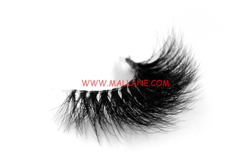 3D Clear Band Mink Strip Lashes SC58