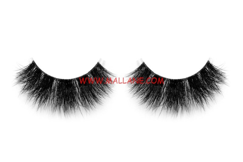 3D Clear Band Mink Strip Lashes SC60