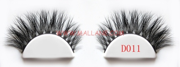 3D Style Mink Strip Lashes D011