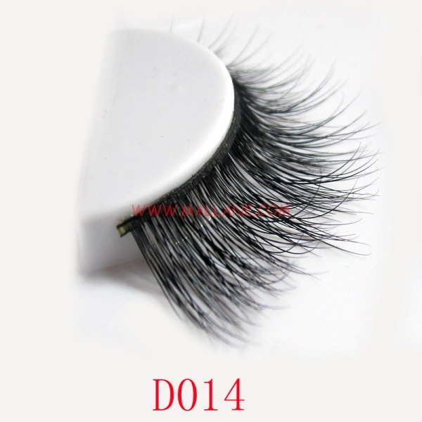 3D Style Mink Strip Lashes D014