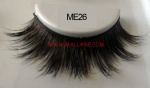 Luxury Sable Fur Strip Lashes ME26