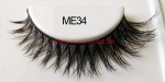 Luxury Sable Fur Strip Lashes ME34