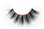 3D Clear Band Mink Strip Lashes SC13