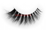 3D Clear Band Mink Strip Lashes SC16