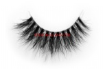 3D Clear Band Mink Strip Lashes SC28