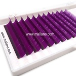 Purple Colored Affordable Eyelash Extensions